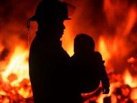 В Нижневартовске в пожаре пострадал ребенок