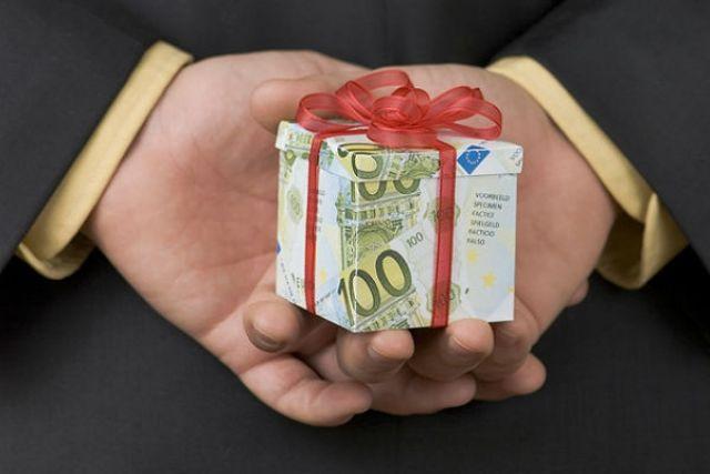 Виды взяток подарки
