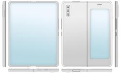 Xiaomi хочет оснастить гибкий смартфон-книжку двумя экранами и выдвижной камерой
