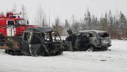 На трассе Сургут-Салехард произошло страшное ДТП, один человек погиб