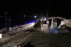 В ДТП на мосту через Обь пострадали двое человек