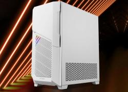 Белоснежный ПК-корпус Antec DP502 Flux White оборудован пятью вентиляторами