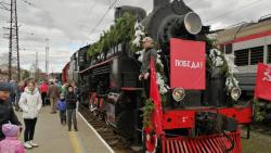 Поезд Победы прибудет в Сургут 15 мая