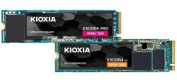 Kioxia выпустит твердотельные накопители Exceria Pro и Exceria G2 формата М.2